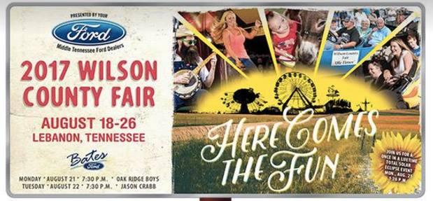 Wilson County Fair 2017 Opening Night