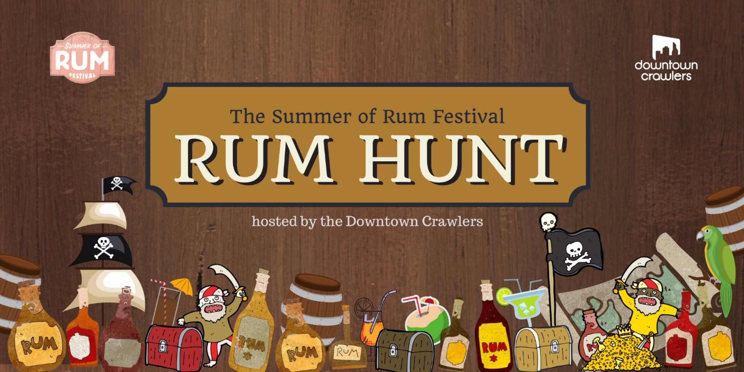 Summer of Rum Festival - Rum Hunt