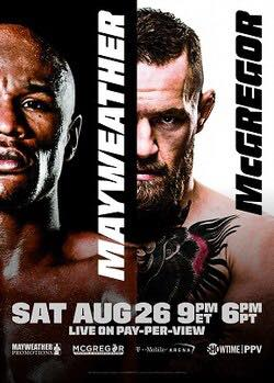 Mayweather vs. McGregor Fight @ Royal Thai and Sushi