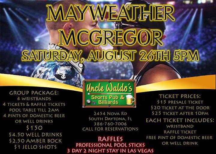 McGregor vs. Mayweather Fight