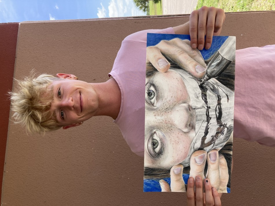 Art Scholarship Winner Blue Dunsworth on Exhibit at Studios of Cocoa Beach
