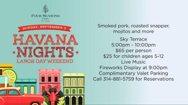 Labor Day Weekend: Havana Nights Celebration