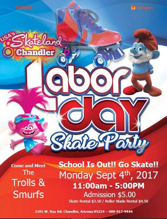 Labor Day Skate Party