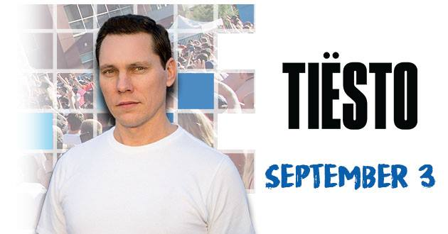 Tiësto at Release Pool Party