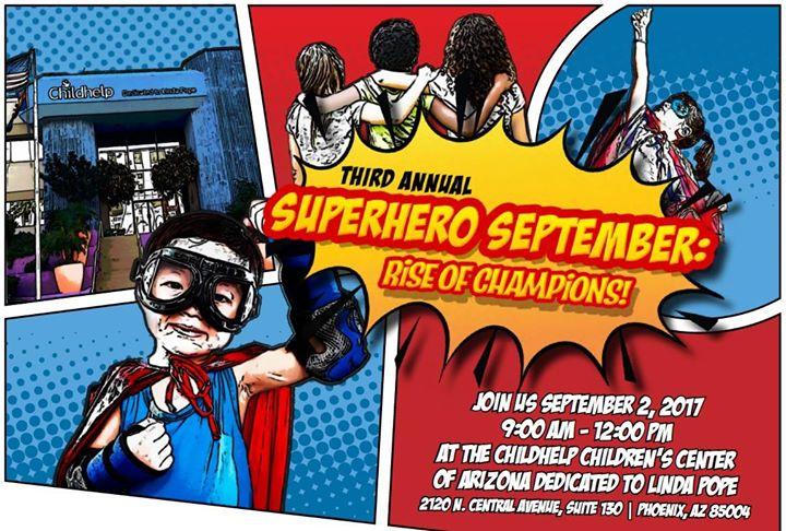 Superhero September: Rise of Champions; Super Main Event