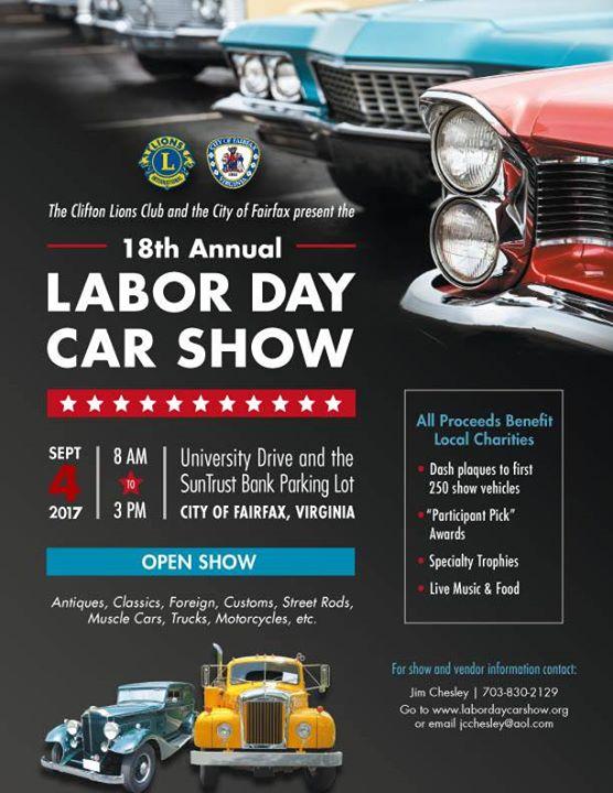 18th Annual Labor Day Car Show