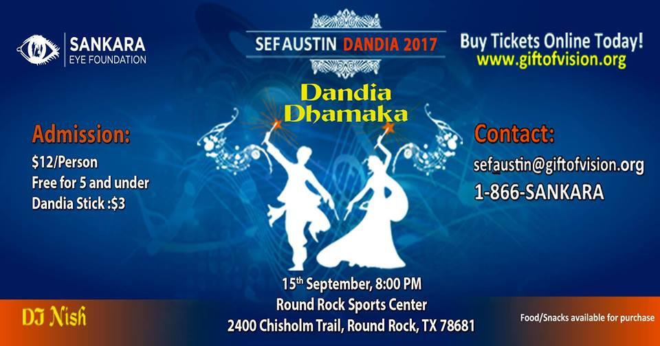 SEF Austin Dandiya 2017