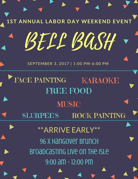 1st Annual Labor Day Bell Bash