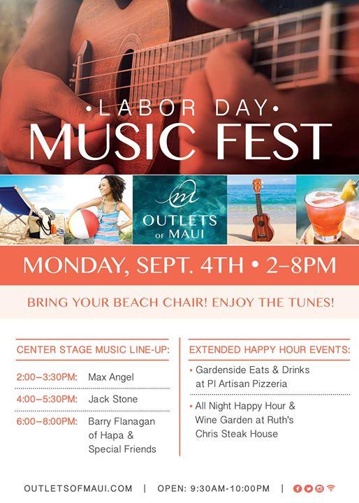 LABOR DAY MUSIC FEST