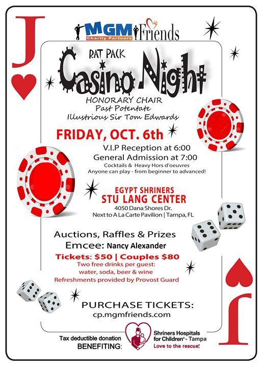 Rat Pack Casino Night