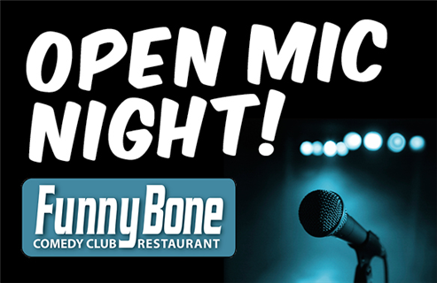 Open Mic at The Hartford Funny Bone
