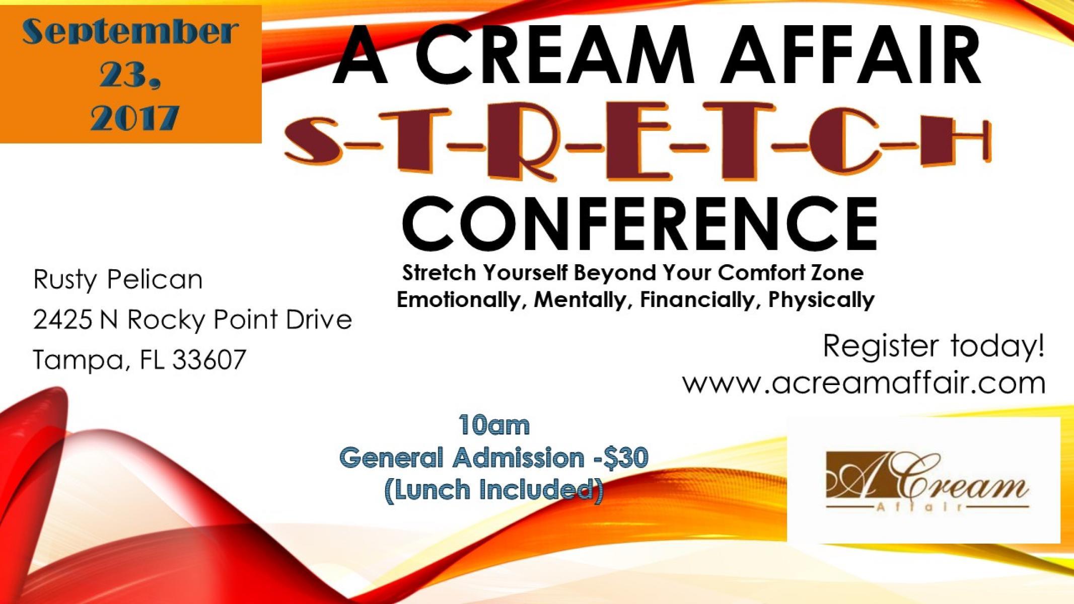 A Cream Affair Stretch Conference