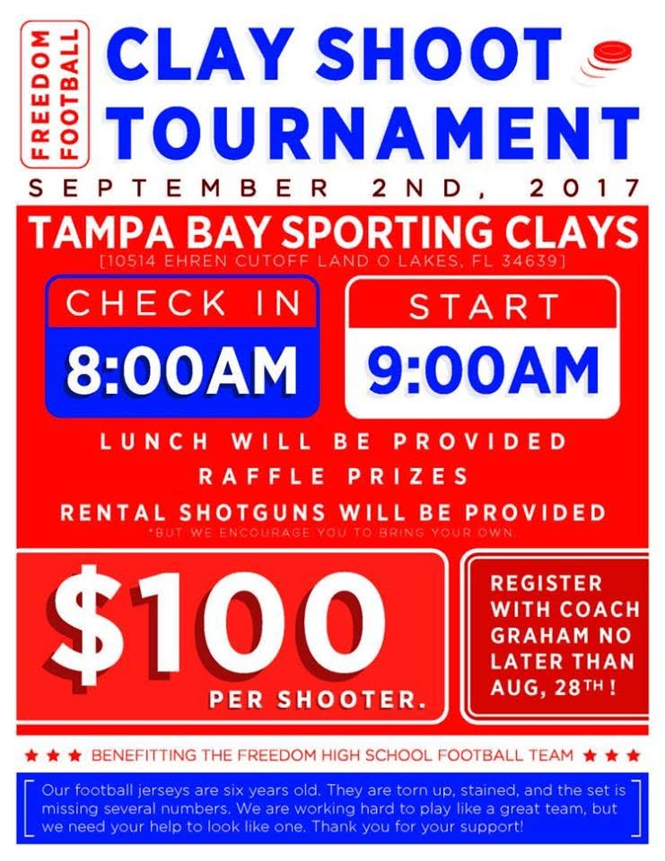 Tampa Bay Sporting Clays Fundraiser for Freedom High