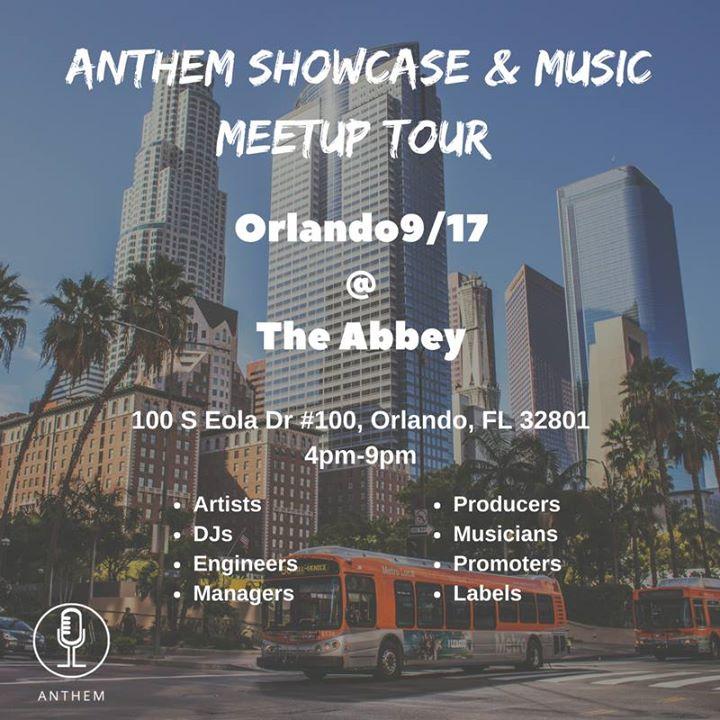 Anthem Showcase & Music Meetup: Orlando