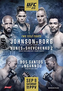 Watch UFC 215: Johnson – vs. – Borg Saturday September 9th at The WingHouse Bar + Grill.