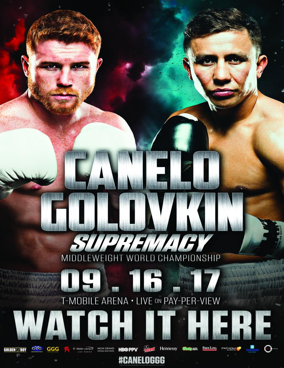 Boxing PPV – Canelo vs. GGG: Supremacy. Watch Live At The WingHouse Saturday, September 16th @8pm
