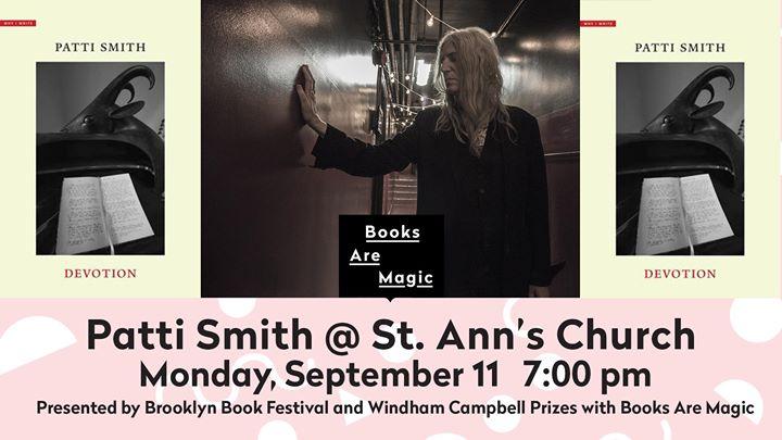 Patti Smith: Devotion at St. Ann's
