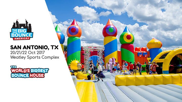 Biggest Bounce House in the WORLD | San Antonio, TX