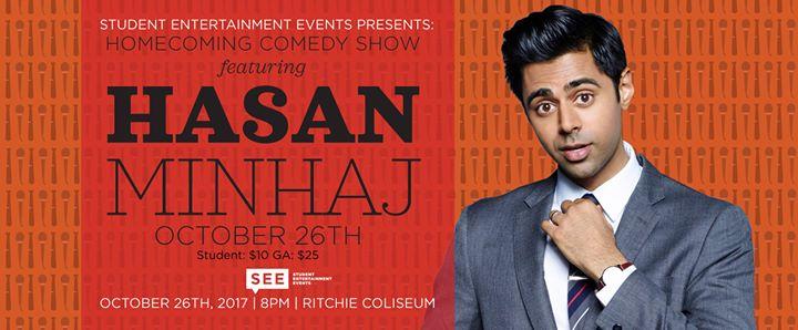 Homecoming Comedy Show featuring Hasan Minhaj