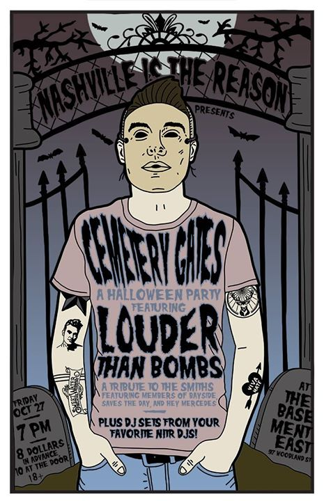 NITR Halloween Party x Louder Than Bombs