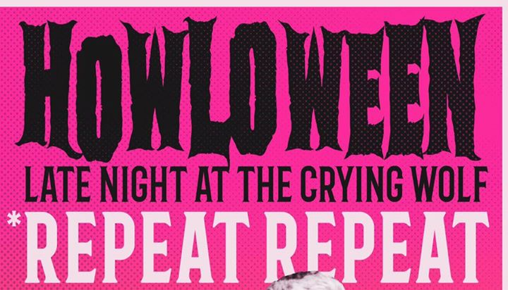 4th Annual HOWLOWEEN with *repeat repeat & PHANGS