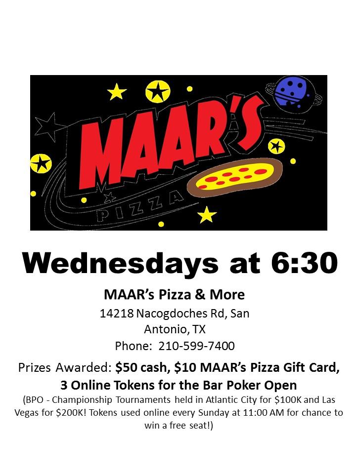 MAAR's Pizza