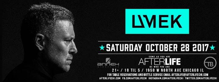 Halloween with UMEK Saturday, October 28th at Afterlife