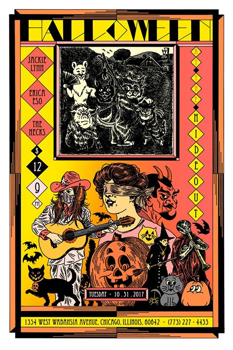 Jackie Lynn + Erica Eso :: Halloween at The Hideout