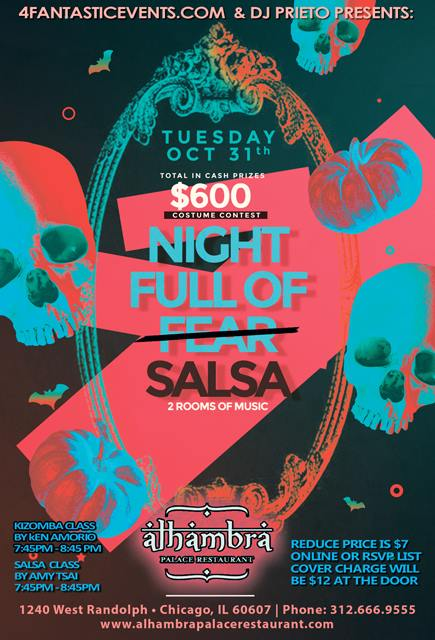 Salsa Tuesday Halloween Party – Costume Contest & More