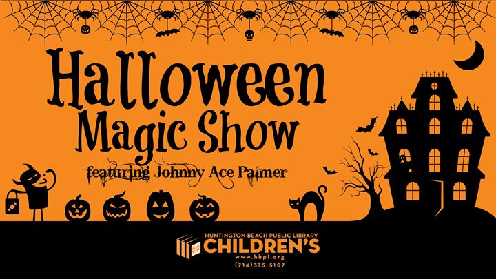 Children's Halloween Magic Show