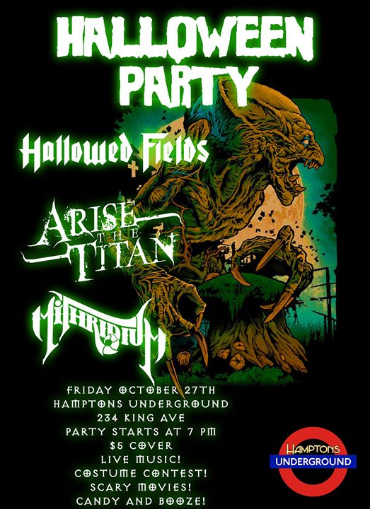 Heavy Metal Halloween Party!