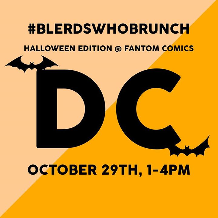 Blerds Who Brunch | DC (Halloween Edition)