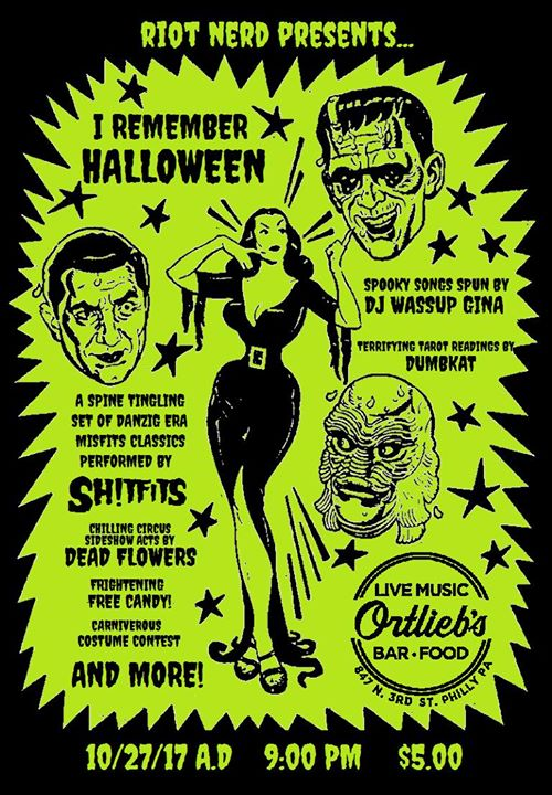 I Remember Halloween Party