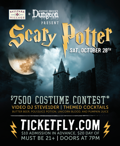 Scary Potter Halloween Party at Ballpark Village
