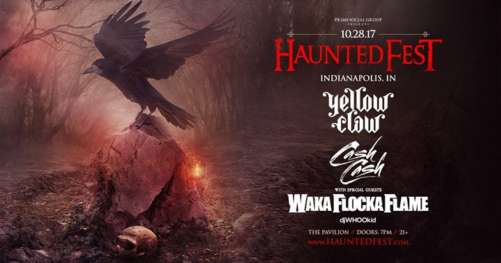 Haunted Fest Indianapolis ll The Pavilion ll 10.28.17
