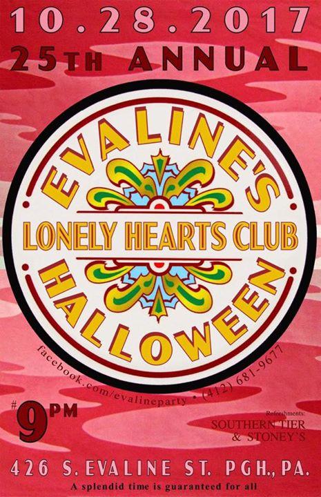 Evaline's Lonely Hearts Club HALLOWEEN