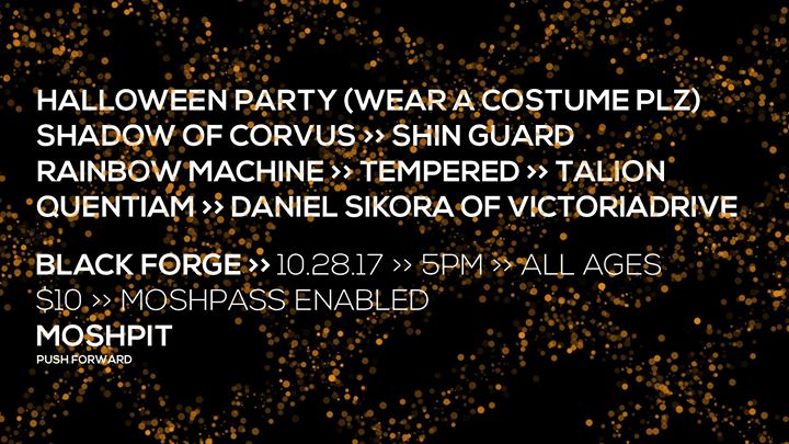 Halloween Party at Black Forge