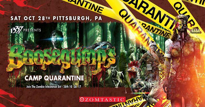 Boosegumps: Camp Quarantine (Zombie Festival Themed Halloween!)