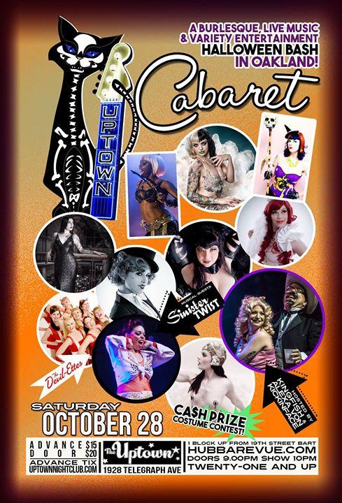 Hubba Hubba Revue's Halloween Burlesque Bash 2017
