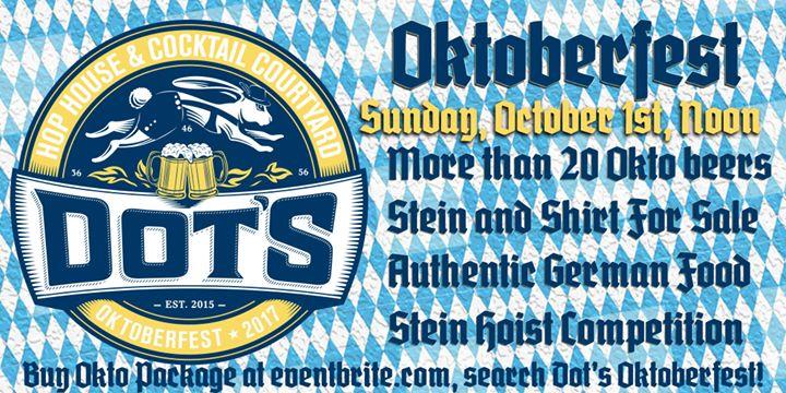 Dot's Hop House Oktoberfest