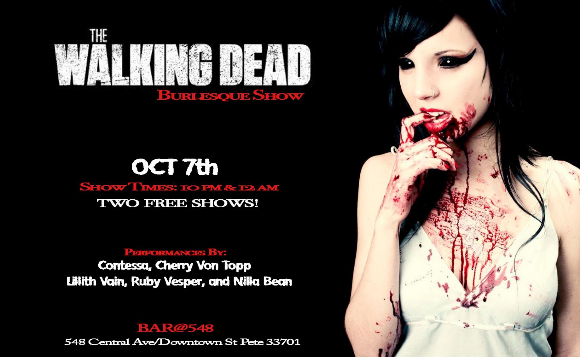The Walking Dead Burlesque Show