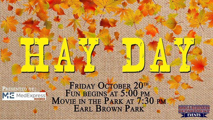 Hay Day (Fall Festival)