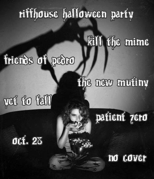 Riffhouse Halloween Party