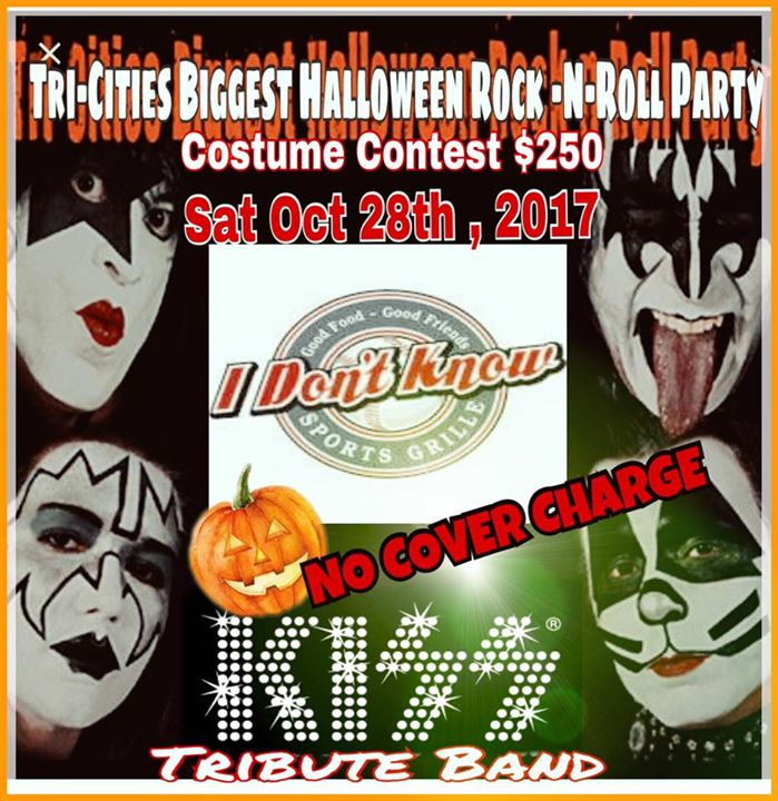Tri-Cities Biggest Halloween Rock-N-Roll Party