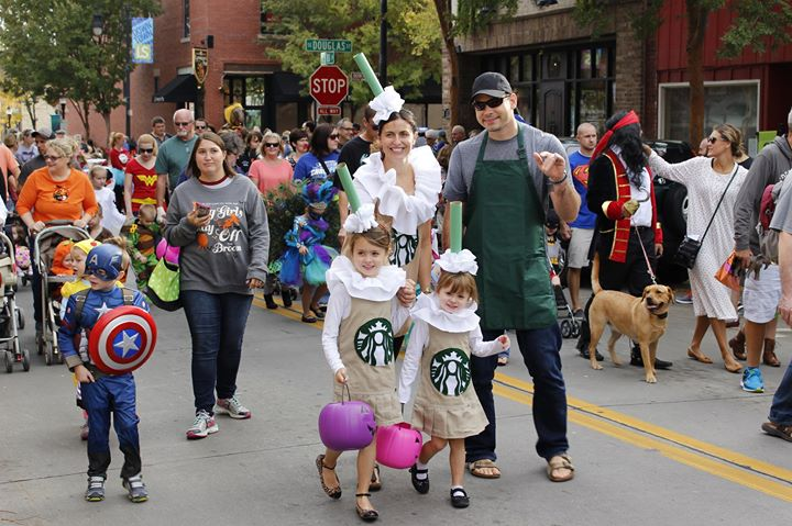 Boos, Barks and Badges Halloween Parade 2017