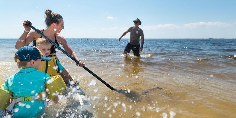 Learn to Paddle on Davis Island