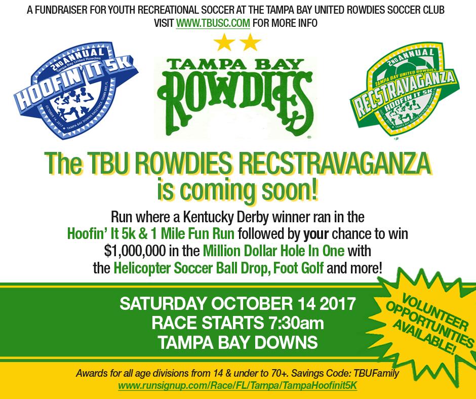 Tampa Bay United Rowdies 2nd Annual Recstravaganza