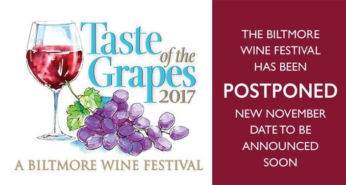 Taste of The Grapes-A Biltmore Wine Festival!