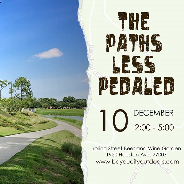 BCO presents: The Paths Less Pedaled