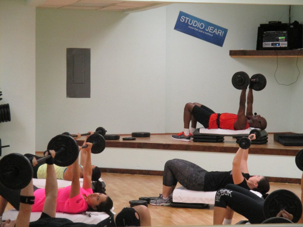 Saturday Mornings - BODYPUMP (weight training) Classes with Studio Jear @ Satellite Location: Absolute Dance